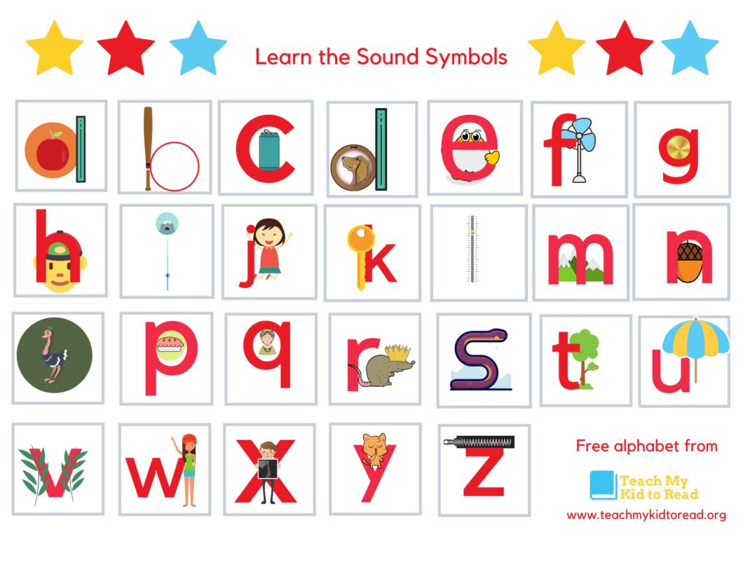 Embedded Alphabet